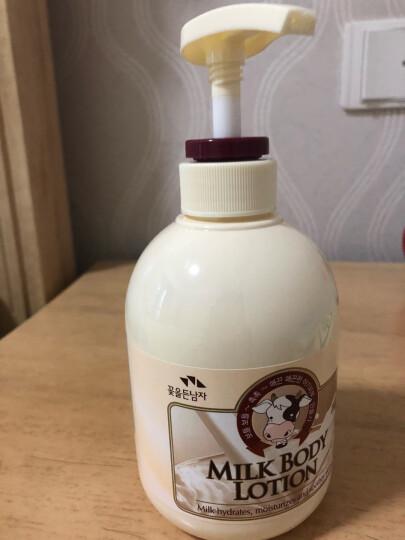 所望SOMANG红花牌山茶籽阿尔干身体精华乳 300ml  韩国进口 晒单图