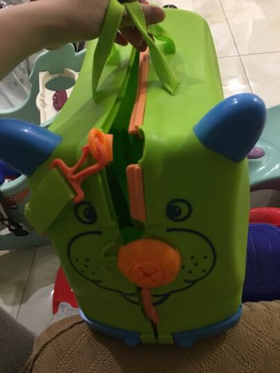 KO SHENG 儿童行李箱旅行箱可坐拖拉玩具骑行小孩宝宝个性拉箱子六一儿童节礼物 汪汪狗10035 晒单图