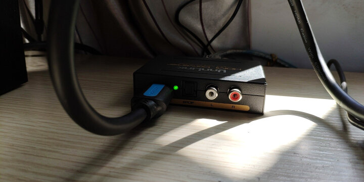 优联 hdmi音频分离器 高清4K分配器解码转换器PS4音响功放  晒单图