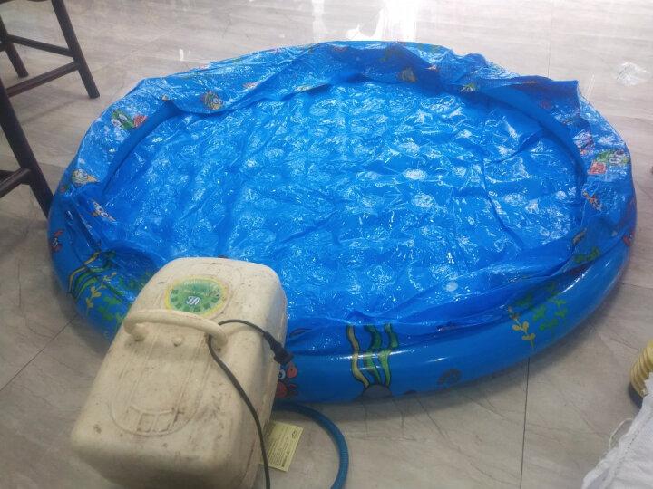 盈泰海洋球池充气儿童沙滩玩具玩沙池套装决明子沙子玩具小孩钓鱼池泳池 100个球 晒单图