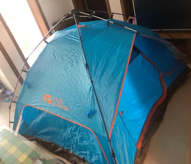 牧高笛(MOBIGARDEN)户外帐篷 公园沙滩3-4人家庭大空间全自动速搭加厚公园帐篷零动 公园露营套餐A5 晒单图