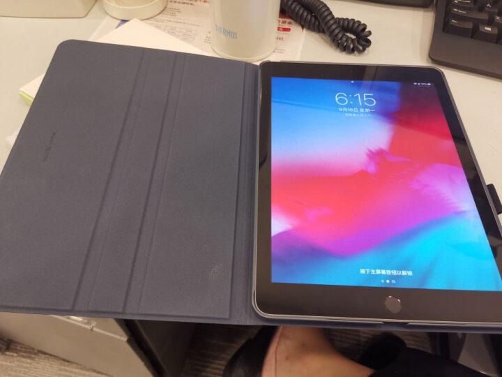亿色(ESR)苹果新iPad保护套 2018新/2017款壳 全包轻薄防摔9.7英寸支架皮套带笔槽 至简原生系列 素蓝笔记 晒单图