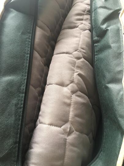 雅鹿·自由自在 床垫家纺 舒适透气软垫 180*200cm 四季保护床褥子可折叠床垫子 1.8米床 灰色 晒单图
