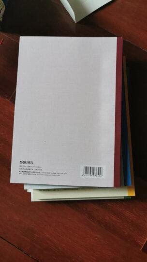 得力(deli)12本A5/40张无线装订软抄本办公记事本 文具笔记本子7651 晒单图