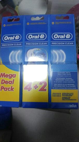 博朗(BRAUN) Oral-B成人电动牙刷替换刷头EB50/20欧乐B牙刷头 EB20-4+1五支装精准清洁型 晒单图