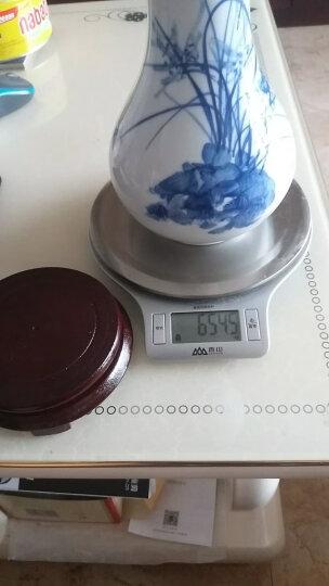 景德镇陶瓷器青花瓷青花手绘斗彩鉴赏瓶花瓶工艺品客厅摆件家居酒柜装饰品瓷瓶摆设H998 紫气东来 晒单图