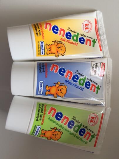 昵昵乐儿童牙膏进口德国原装宝宝牙膏2岁可吞咽2-12岁换牙期防蛀牙 组合套装 晒单图