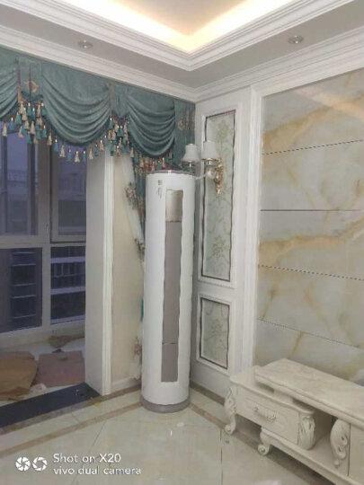 美的(Midea)立式空调2匹/3匹 定速冷暖 静音 智能清洁 圆柱空调柜机(陶瓷白)智行系列 KFR-72LW/DY-YA400(D3) 3匹 晒单图