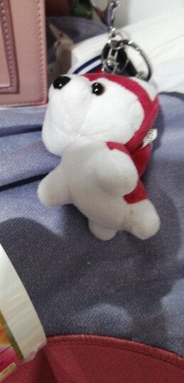 可爱创意毛绒哈士奇钥匙扣小狗玩偶挂件女包包挂饰汽车挂链礼物男 红色 哈士奇 晒单图