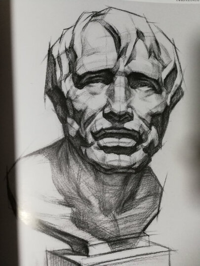 俄罗斯列宾美术学院珍藏素描精品选:肖像篇 晒单图