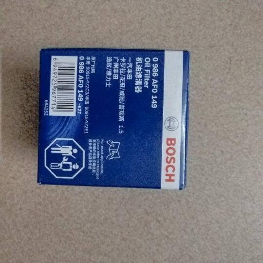 博世(BOSCH)机油滤芯|滤清器|机油格|机滤 丰田花冠/卡罗拉 1.6 1.8 晒单图