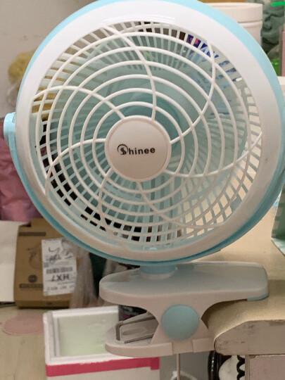 赛亿(Shinee)小风扇 台式落地夹扇、壁扇  迷你静音车载空气循环电风扇 学生宿舍床头扇FTB6-01 晒单图