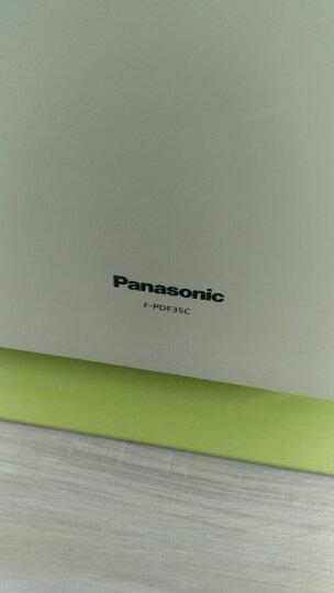松下(Panasonic)空气净化器家用除过敏原 除雾霾PM2.5二手烟卧室办公室F-PDF35C-G 晒单图