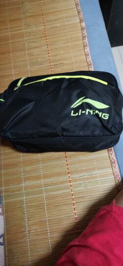 李宁(LI-NING)泳裤泳镜泳帽收纳包套装 时尚大气游泳装备LSJK333 黑 XXL 近视款300度 晒单图