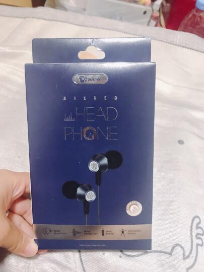 维肯TypeC版手机耳机Type-C一加7TPro小米10/9Pro5G小米8se华为P20P 小米mix3mix2s6t荣耀20黑鲨2有线扁接口 晒单图