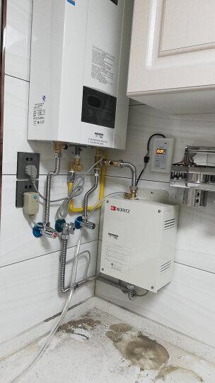 能率(NORITZ) 燃气热水器天燃气 搭配预热循环系统循环机热魔方水泵循环泵零冷水 16E3FEX+循环泵 晒单图