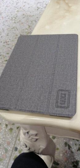 优加 苹果新iPad7保护套 2018新款/2017款通用平板保护壳 9.7英寸防摔支架皮套 畅系列 牛仔蓝 晒单图