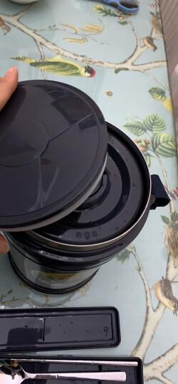 泰福高(TAFUCO)保温饭盒 不锈钢焖烧保温提锅免加热三层保温桶 T-2510 香槟金色2.2L 配保温包 晒单图