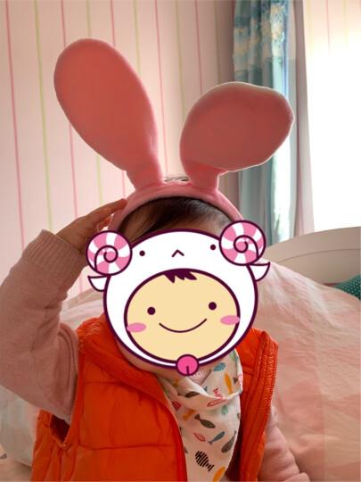 恬馨美饰 王俊凯同款朱迪兔子兔耳朵发箍迪士尼疯狂动物城卡通头饰儿童发饰 粉色兔耳朵 晒单图