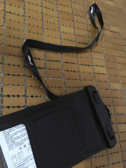 李宁 LI-NING 手机防水袋 游泳包潜水套 手机防水包 723 粉色 晒单图