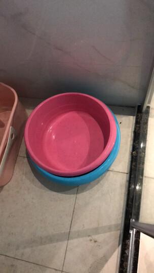 【特深洗衣盆】茶花塑料洗衣盆大号儿童洗浴盆加厚洗脚盆 小号+中号+大号 三件套装 颜色随机 晒单图