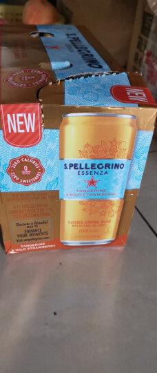 意大利进口 圣培露(San Pellegrino) 含气天然矿泉水 塑料瓶装 整箱装 500ml/瓶*24瓶 晒单图