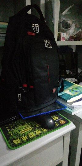 SWISSGEAR时尚双肩包 14.6英寸商务双肩笔记本电脑包 休闲旅行背包学生书包 SA-9911黑色 晒单图