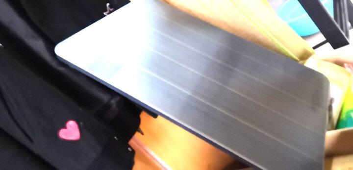 倍方电脑桌大象腿黑拉丝 简易笔记本电脑桌 床上用宿舍懒人桌 简约可折叠学习书桌 家用餐桌 家用榻榻米桌 晒单图