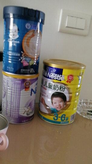 雀巢(Nestle) 儿童奶粉 4段 3-6岁 学龄前 全脂奶粉  进口奶源 桶装1000克 (新老包装随机发货) 晒单图