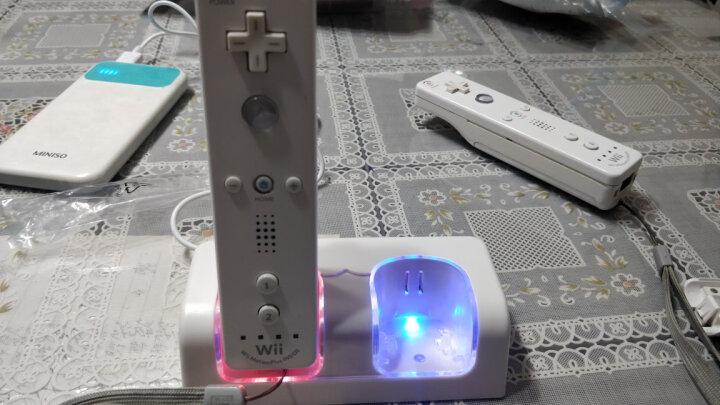 利乐普 WII手柄座充 WII手柄双充带双电池带USB充电线 小沙发座充 黑色座充带1个WII直柄 晒单图