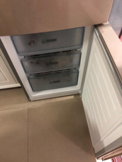 美的(Midea)226升 风冷无霜三门冰箱 电脑控温 节能静音 中门宽幅变温 三开门电冰箱 芙蓉金 BCD-226WTM(E) 晒单图