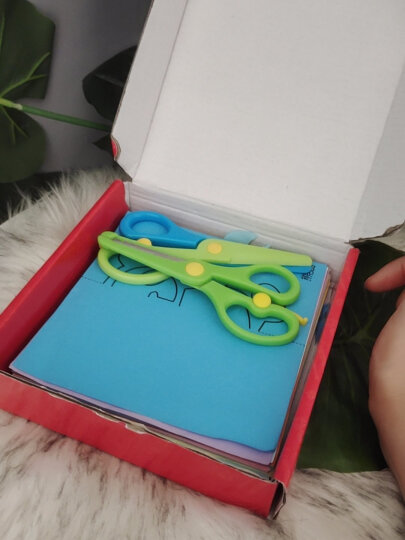 美阳阳儿童剪纸 DIY制作立体折纸幼儿园手工制作材料 3-6岁折纸益智玩具书 晒单图