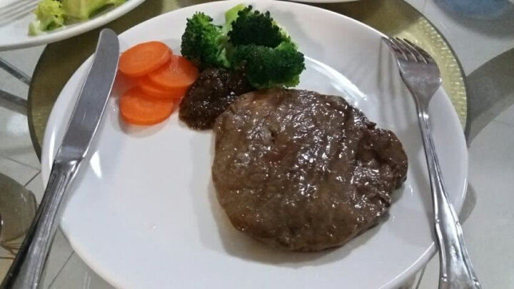 中粮 家佳康 西冷牛排 秘制调理牛排 澳洲进口牛肉  全程冷链 120g/袋  中粮牛排 家佳康牛排 晒单图
