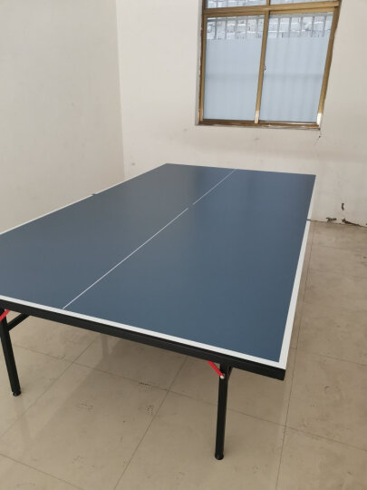 健伦(JEEANLEAN)乒乓球桌 室内家用可折叠移动乒乓球台户外 进阶级KL-320户外折叠乒乓球台(室外带轮) 晒单图
