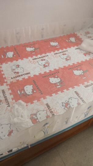 明德Meitoku HelloKitty泡沫地垫 PE泡沫垫 爬行垫 红+白色拼图地垫 拼接地垫30*30*1cm(9片装) 晒单图