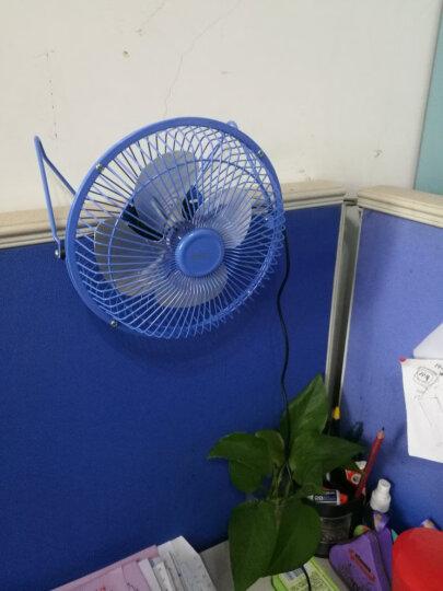 得力(deli)全金属大风力USB桌面风扇/小风扇/电风扇/学生宿舍风扇 蓝色 晒单图
