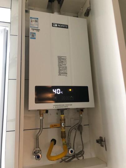 能率(NORITZ)13升静音恒温 原装进口CPU 燃气热水器GQ-13F3FEX(天然气)(JSQ25-F3) 晒单图