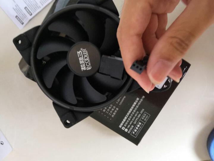 超频三(PCCOOLER)皓月 12CM红光 机箱风扇 (水冷排散热/电脑台式机风扇/CPU风扇/减震静音/赠4颗螺丝) 晒单图