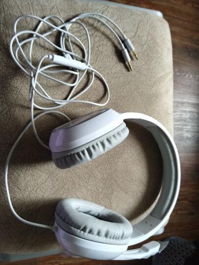 漫步者(EDIFIER)K815 头戴式立体声游戏耳机 电脑耳麦 绝地求生耳机 吃鸡耳机 办公教育 学习培训 白色 晒单图