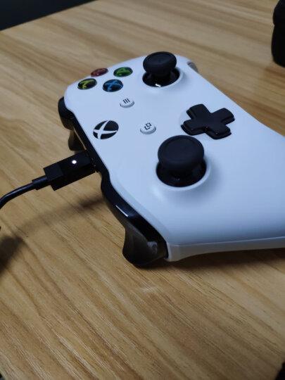 微软(Microsoft)Xbox One s蓝牙手柄 无线控制器 精英游戏手柄 无线适配器 Xbox蓝牙手柄【蓝灰色】 晒单图