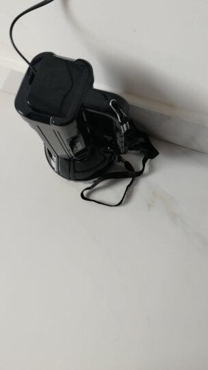 久量(DP) LED强光手电筒 远射手电探照灯充电式 家用防雨水手提灯大功率巡逻探照灯 晒单图