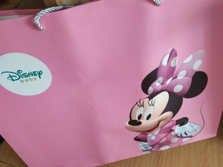 迪士尼宝宝毛毯子儿童云毯盖毯双层加厚礼盒装粉色140cm 晒单图
