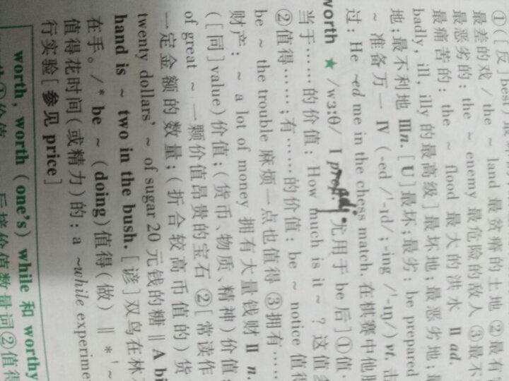 学生实用英语高考必备 2020全新修订第2019版刘锐诚 英语词典高中通用 晒单图