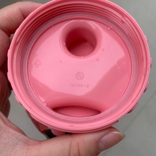特百惠(Tupperware)茶韵随手杯500ml学生男女运动水杯塑料杯带茶隔防漏大容量大容量茶杯 新款贝壳白500ml 晒单图