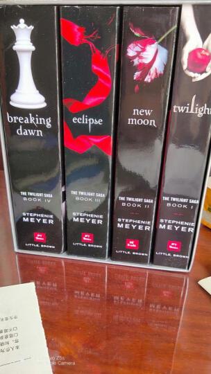 暮光之城 英文原版 4本全套集 the twilight saga 破晓 月食暮色 晒单图