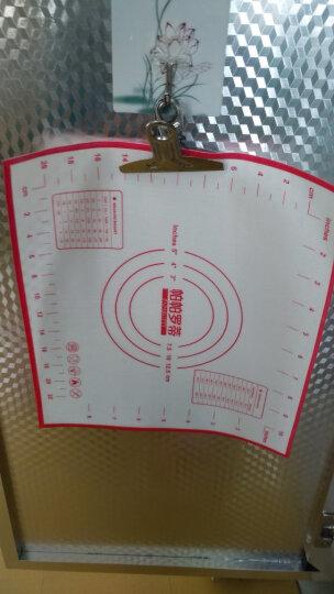 帕帕罗蒂 铂金硅胶垫 揉面垫 案板带刻度烘焙工具用品 晒单图