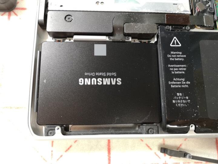 SAMSUNG 三星 860 SATA3 250G/500G笔记本台式机 固态硬盘SSD 860EVO 1T 官方标配 晒单图