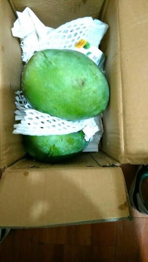 【四川扶贫馆】大青芒果 带箱5斤/箱 单果400-1500g 热带水果生鲜 晒单图