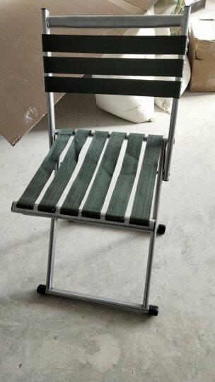 华恺之星 马扎凳子 户外便携折叠椅凳子 带靠背休闲椅凳子 晒单图