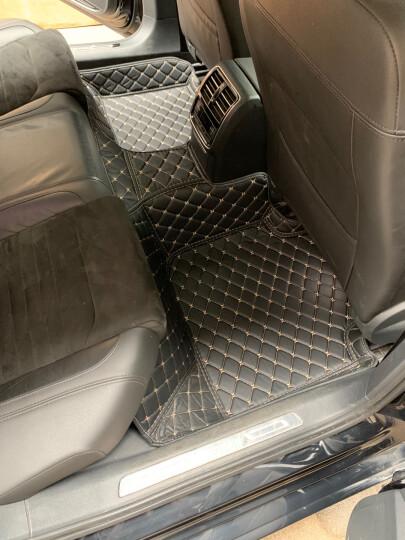 斯克帝 全包围汽车脚垫适用于大众迈腾帕萨特速腾朗逸途观探岳途观L宝来奇骏逍客轩逸天籁英朗威朗昂科威 黑红色 奥迪A6L/A3/A4L/Q5L/Q3/Q5/A5 晒单图